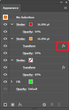 effect-option-on-appearance-panel