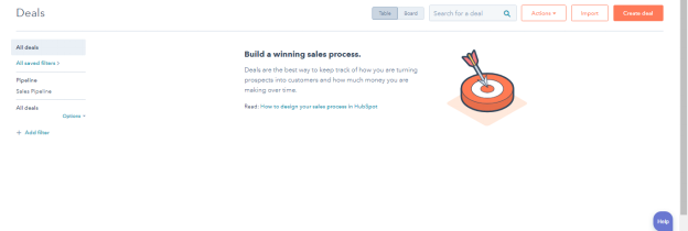HubSpot CRM - Create Deal