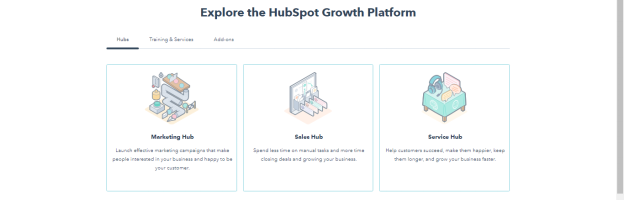 HubSpot CRM - Home Page of HubSpot CRM