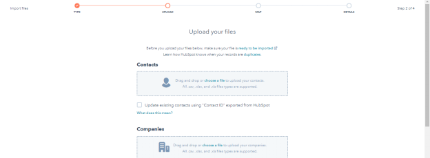 HubSpot CRM - Select Two Different Objects