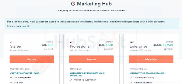 HubSpot Enterprise Package