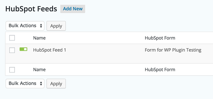 HubSpot Integration with Gravity Forms