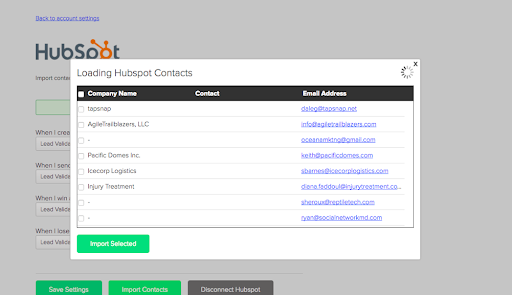 HubSpot Integration with Proposify