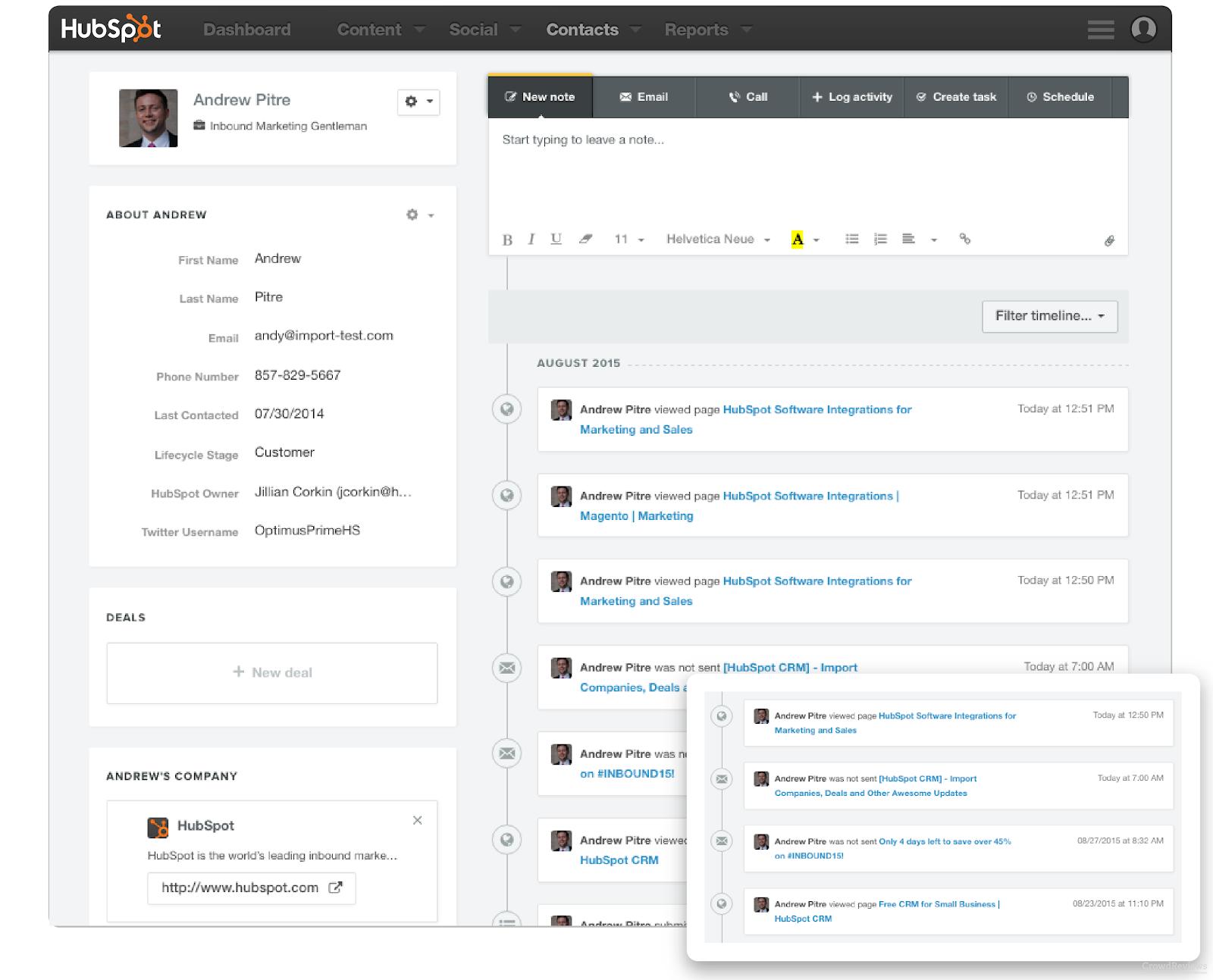 HubSpot Integration with Readytalk