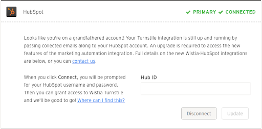 HubSpot Integration with Wistia