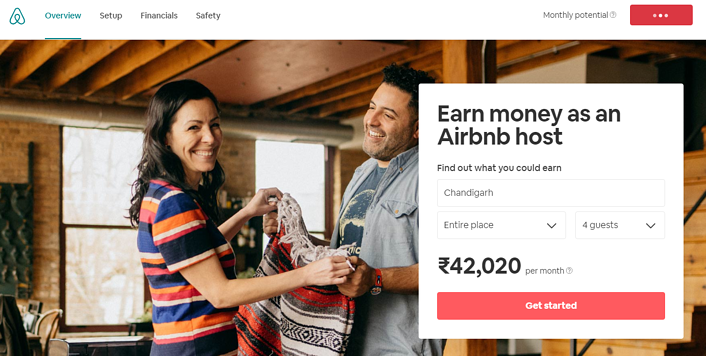 HubSpot Landing Pages - Airbnb