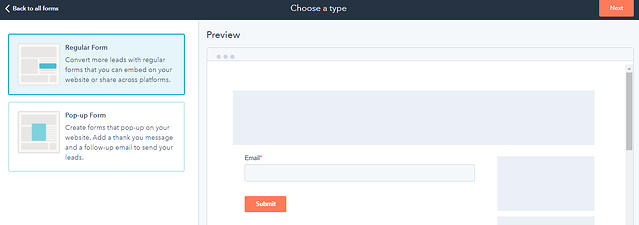 Hubspot Pop Up Forms Navigate