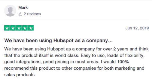 HubSpot Reviews-1 - Truspilot
