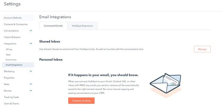 hubspot-sales-email-integration