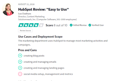 HubSpot Service Reviews-10 - trustradius