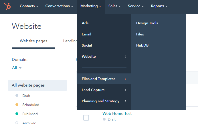 hubspot-smart-forms-navigate-to-marketing