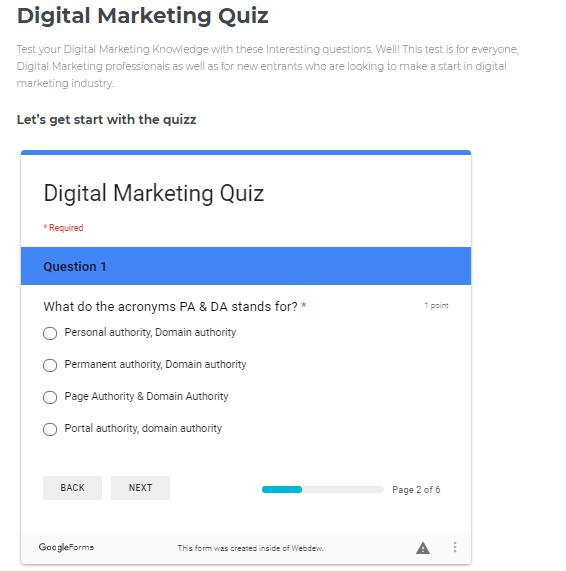 Inbound Recruitment Marketing Quiz