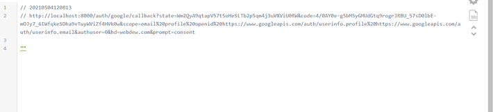 page redirection error