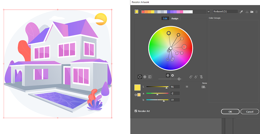 playing-with-colors-in-color-wheel