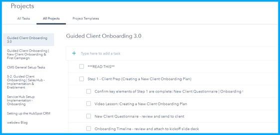 project-organize-onboarding-task