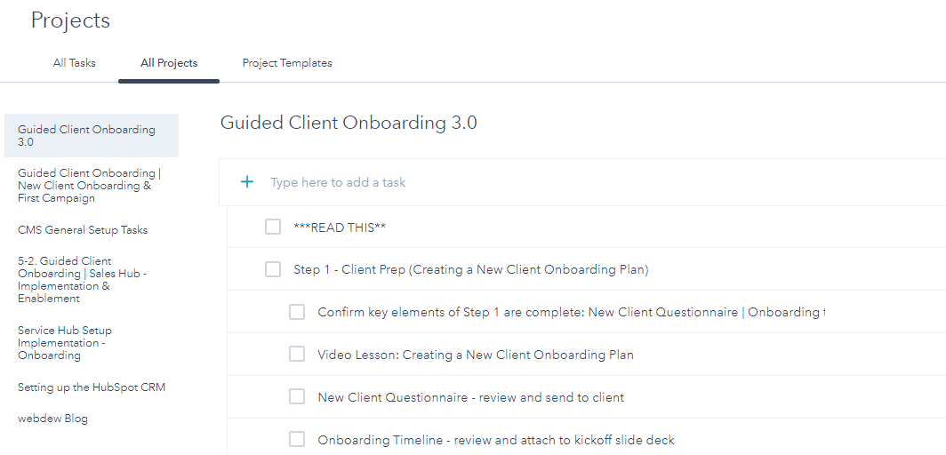 Project organize onboarding tasks effortlessly