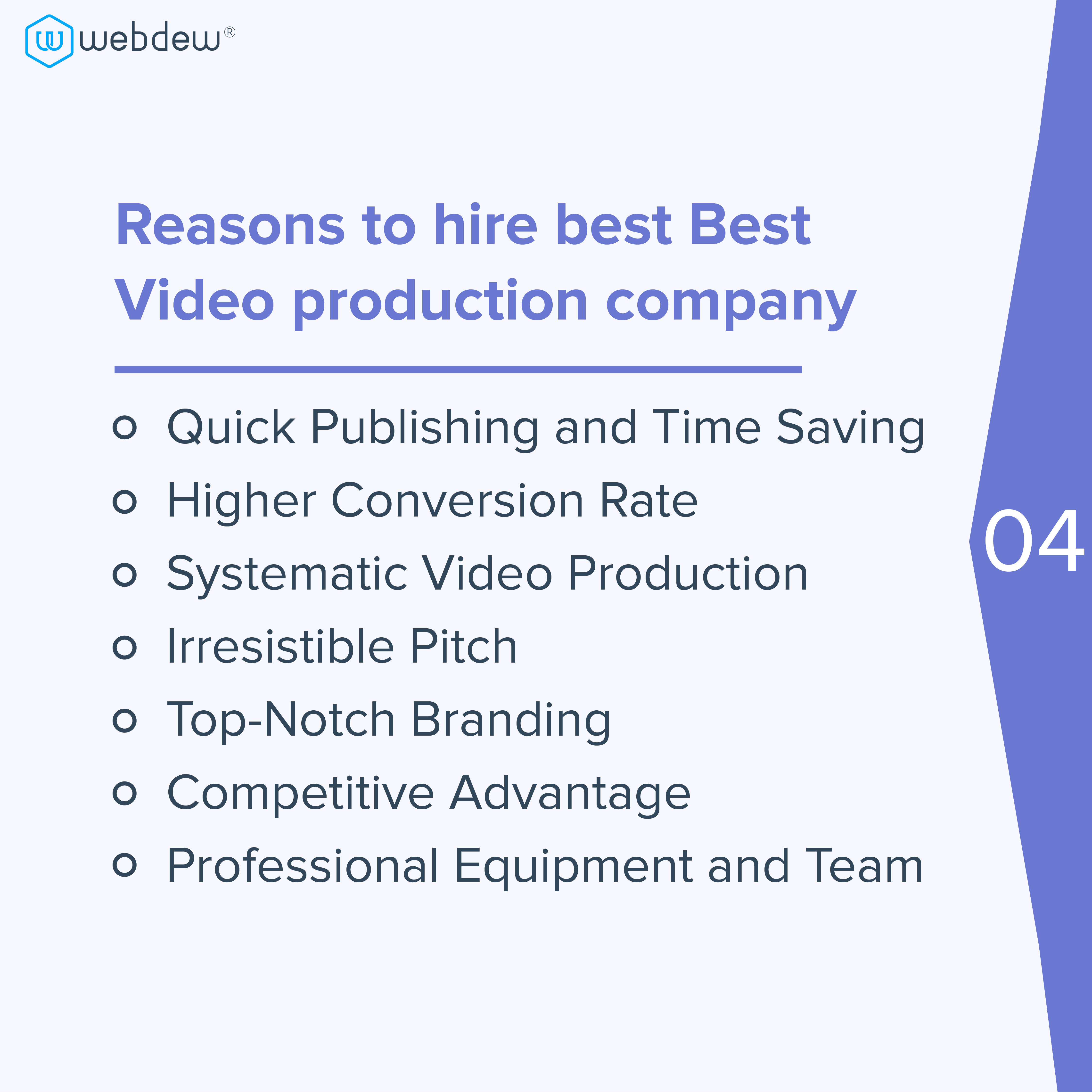 reasons-for-hiring-production-company