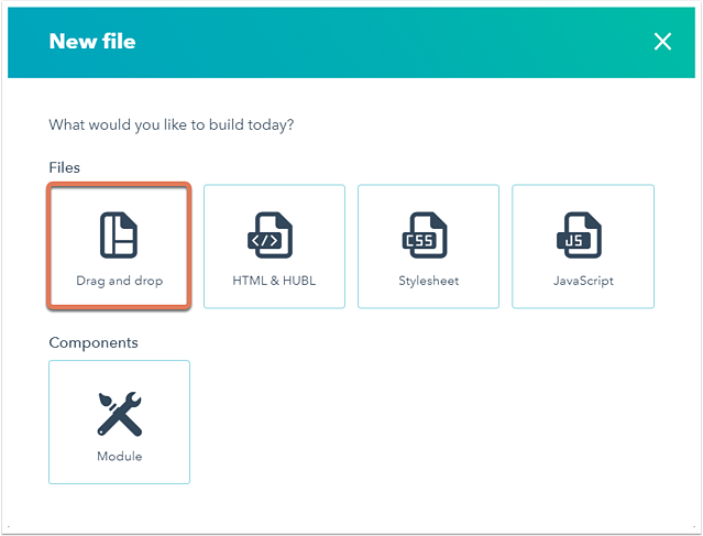 select-drag-and-drop-to-create-new-file