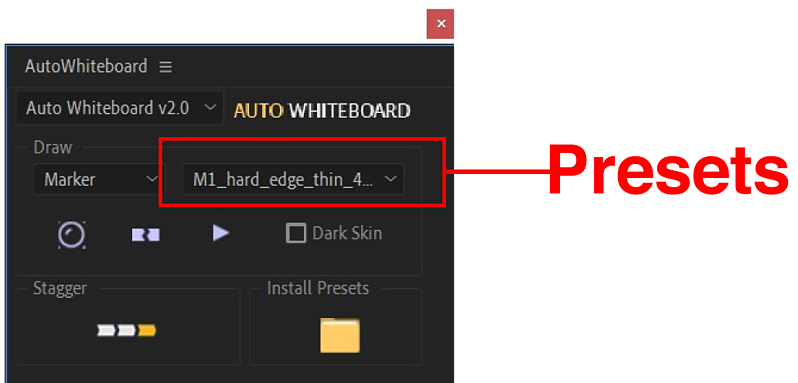 select-presets-from-auto-whiteboard-menu