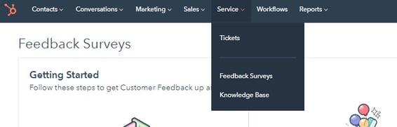 step1 create hubspot survey form