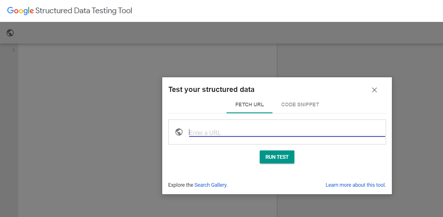 structured-data-testing-tool
