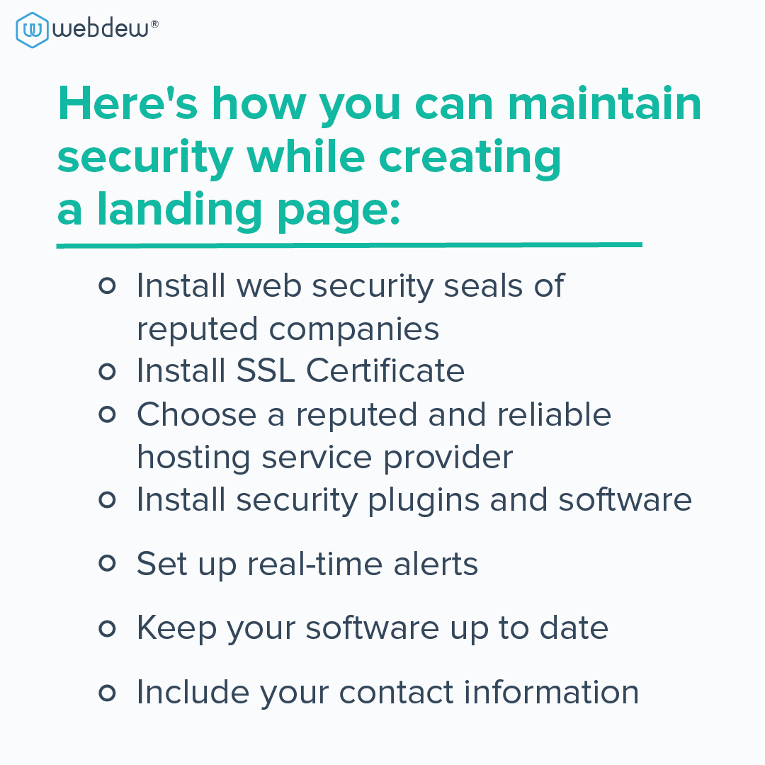 tips-for-landing-page-security