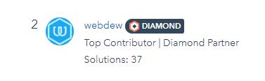 webdew-30-days-rank-hubspot-community-in-kuly