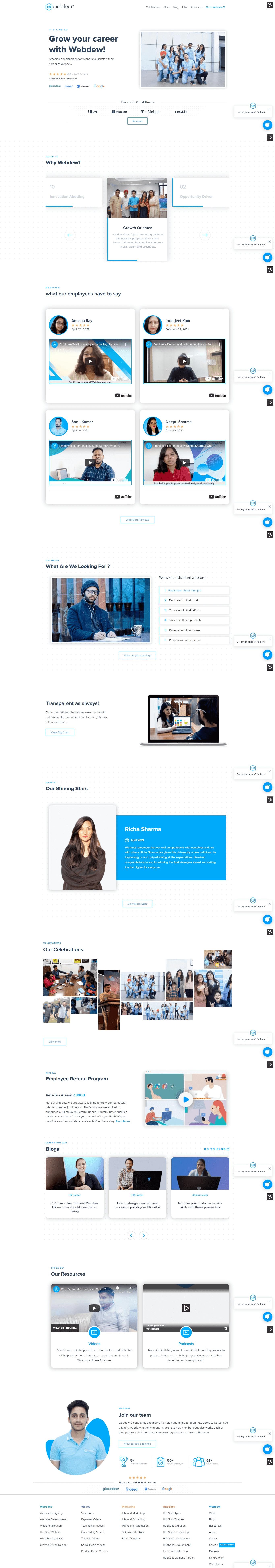 webdew-career-website