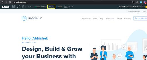 webdew-domain-authority