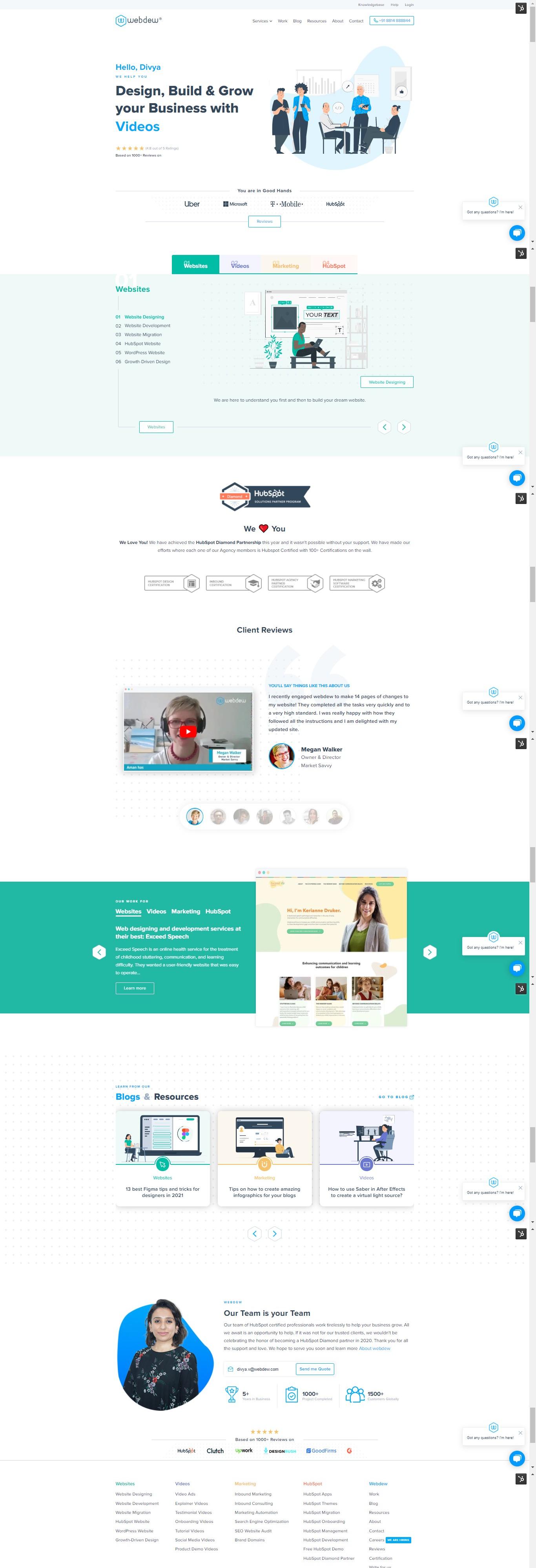 webdew-website