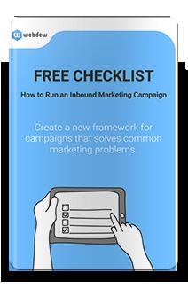 Ebook - Free Checklist for Inbound marketing