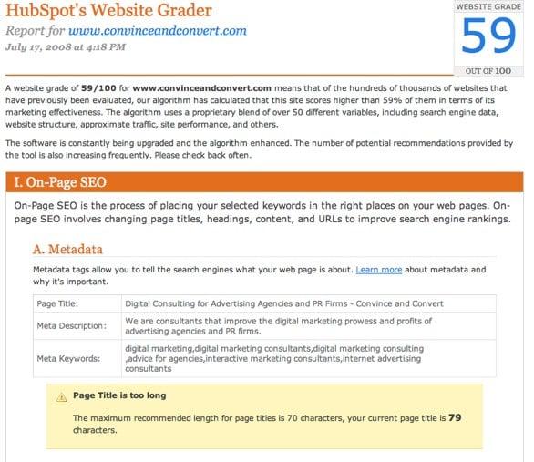website-grader-hubspot