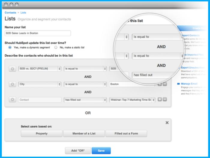 what-is-hubspot-lead-list-management-segmentation