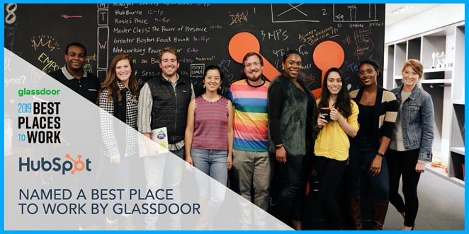 what-is-hubspot-best-place-to-Work-by-glassdoor