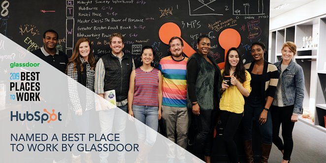 What is HubSpot -  Best Place to Work By Glassdoor