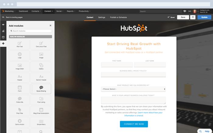What is HubSpot - CTAs & LandingPages