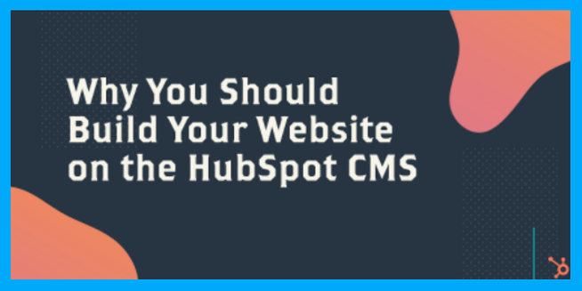why build your website on hubspot