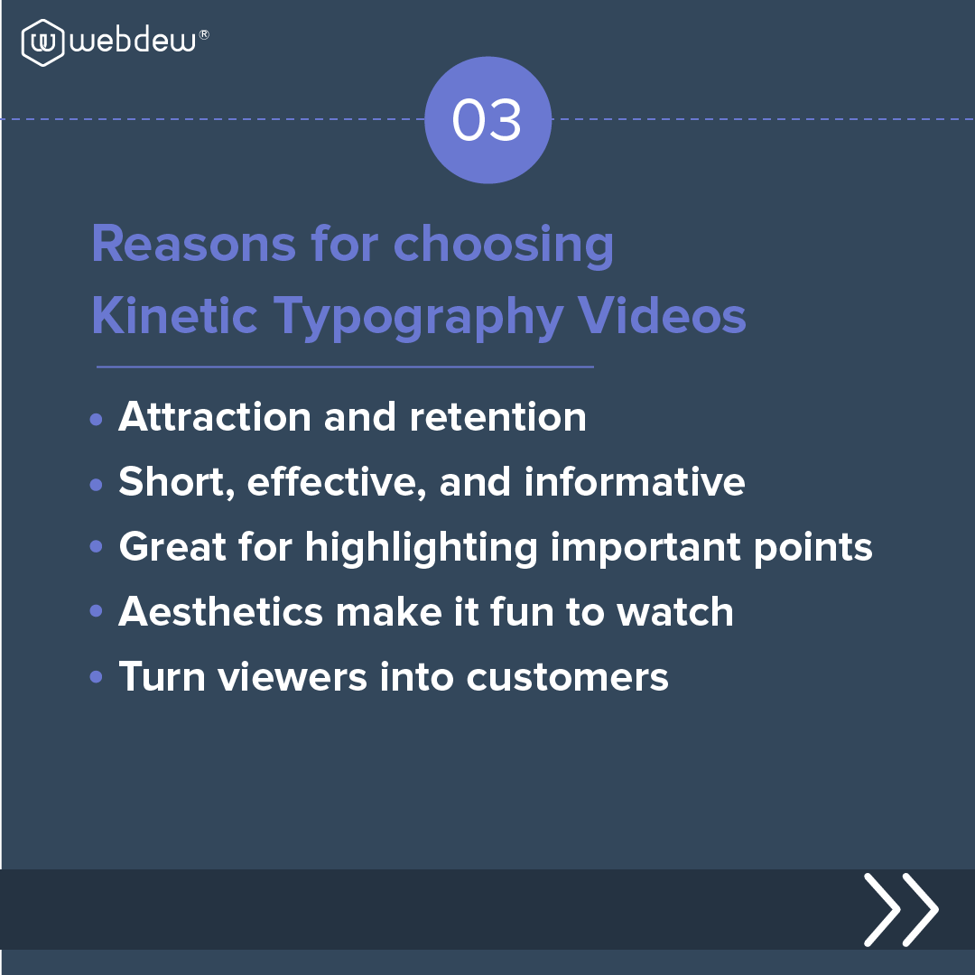 why-choose-kinetic-typography -video