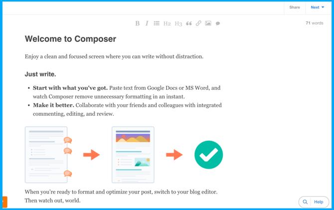 Composer-HubSpot