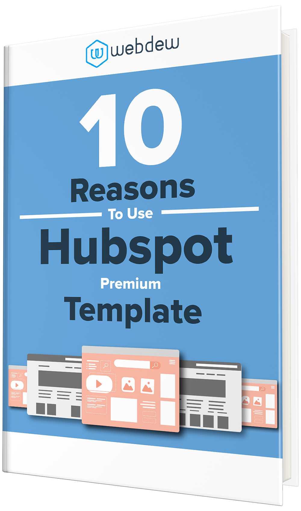 10 reasons to use hubspot premium template