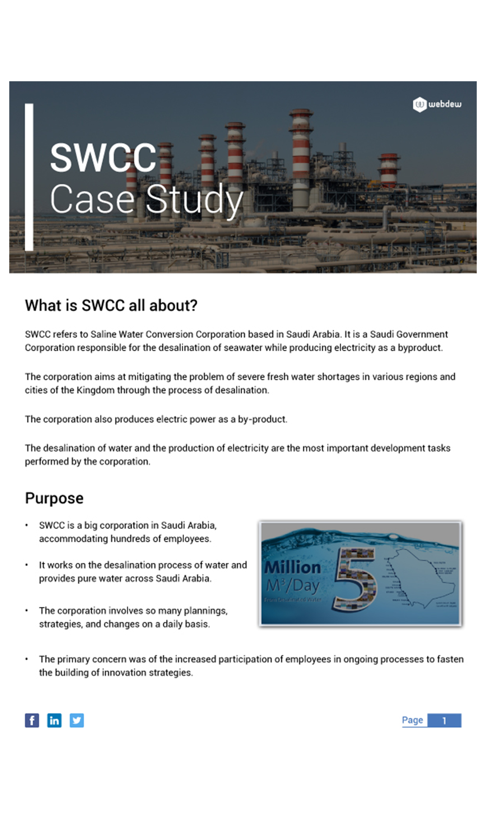 A Case Study of SWCC