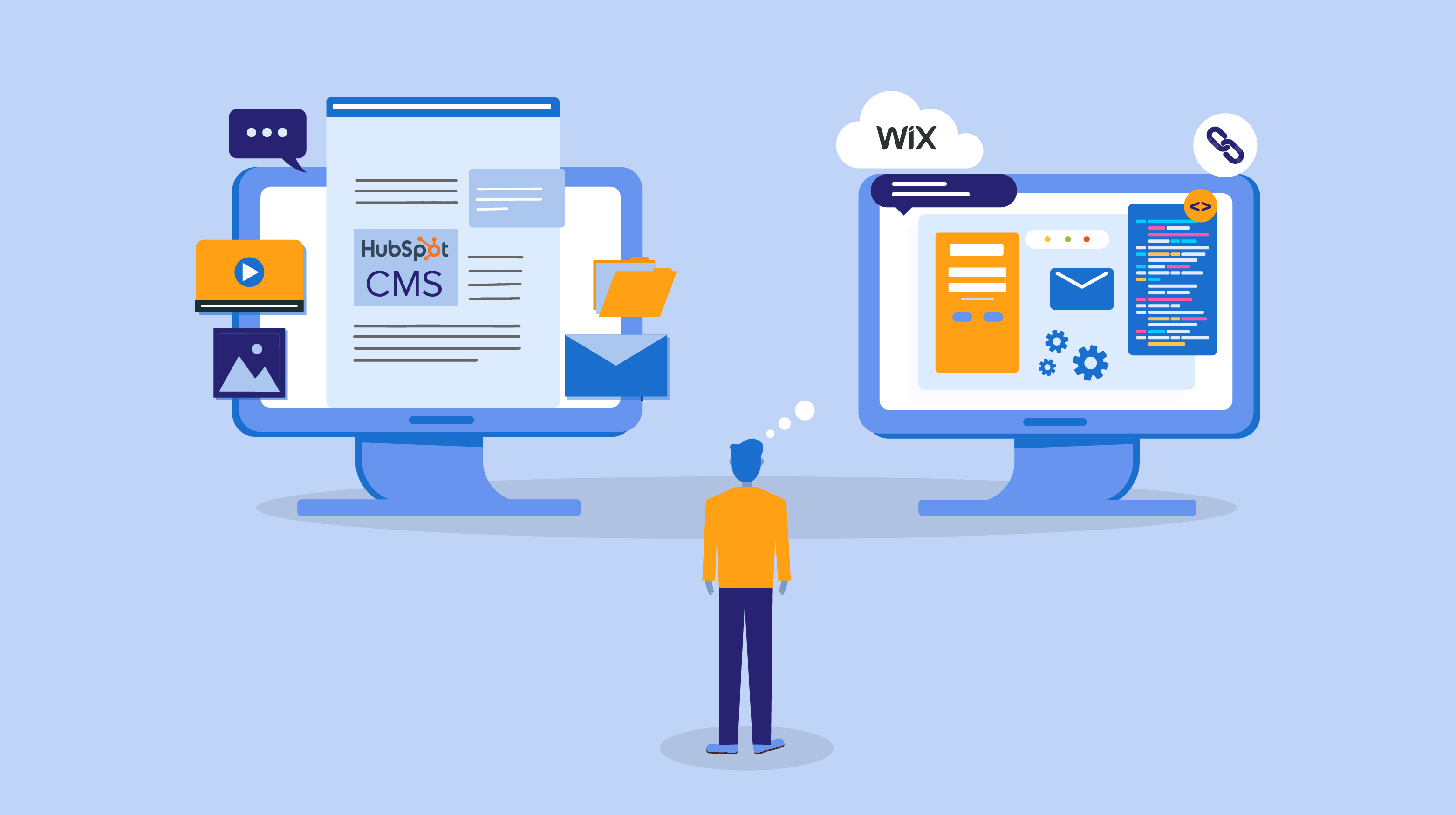 Comparison of Hubspot CMS vs Wix. Which CMS you should choose-01 (1)