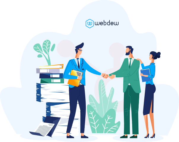 Webdew Partner With Us