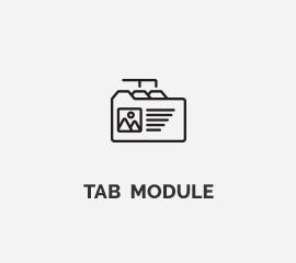 Tab-module