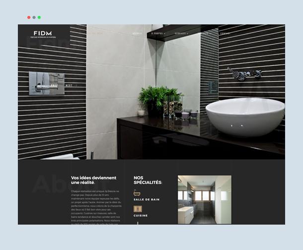 Webdew Portfolio - FIDM-Kitchen