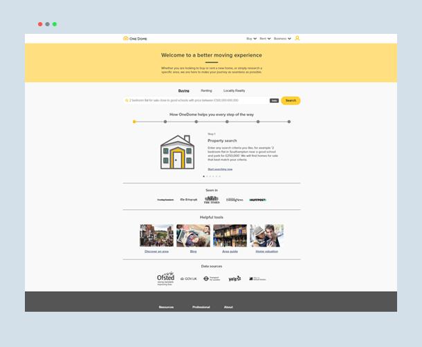 Webdew Portfolio - OneDome