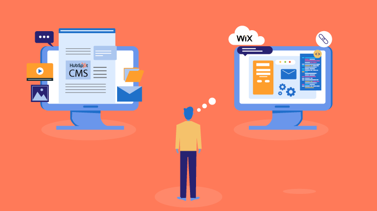 Comparison of HubSpot CMS vs Wix. Which should you choose?