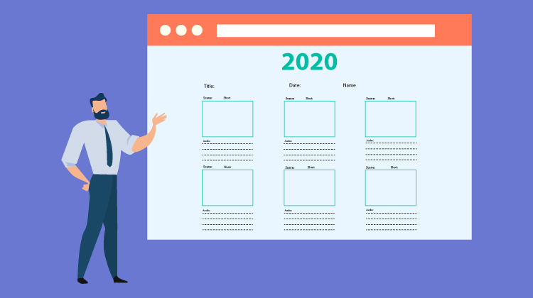 Here are the 6 Best video storyboard templates for 2020