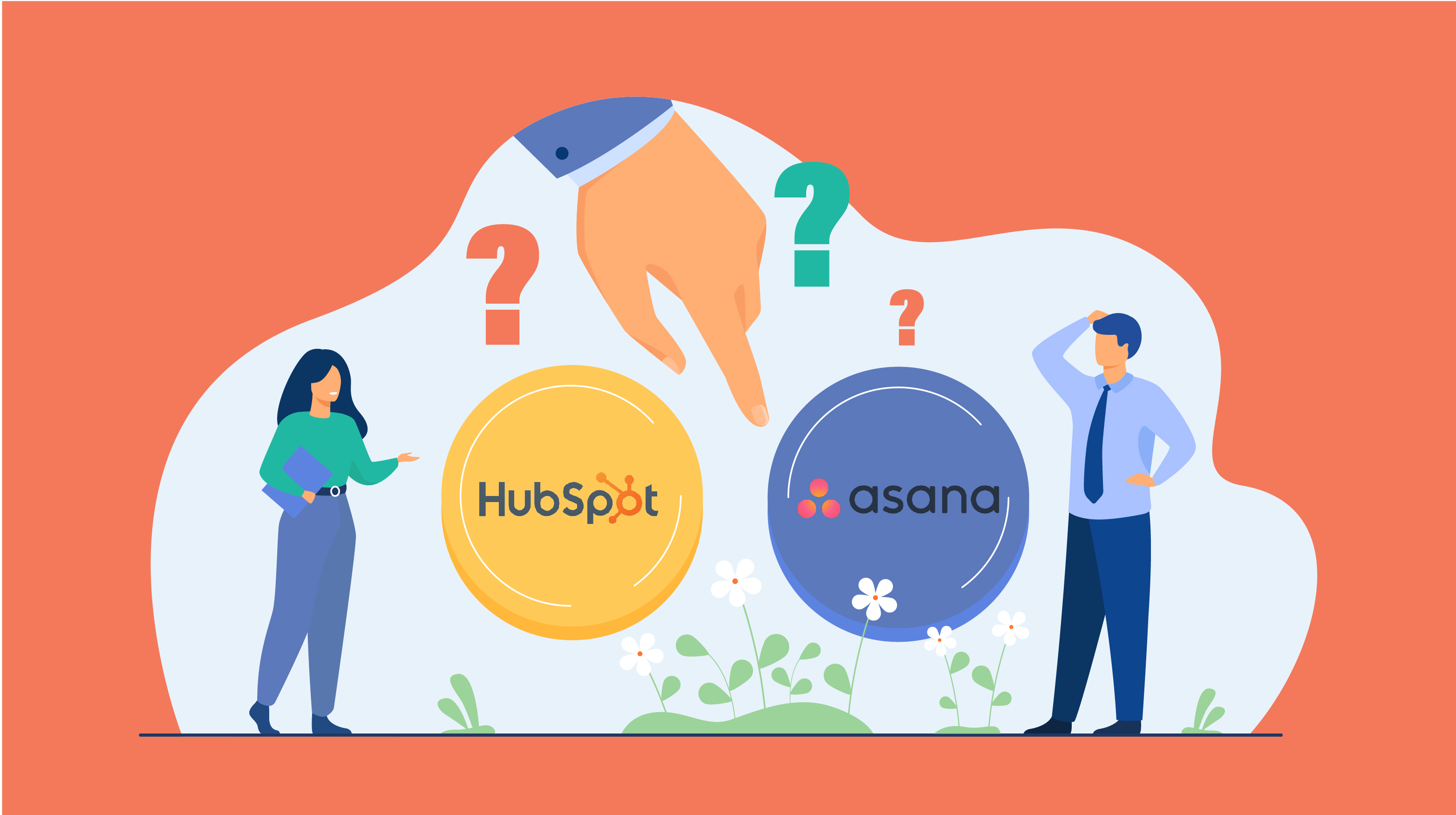 HubSpot vs Asana- Which is the best CRM for you in 2021?
