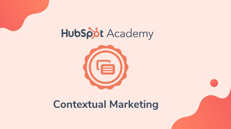 HubSpot Contextual Marketing Certification